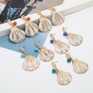 Fashion simple temperament shell earrings NHKQ146689's discount tags