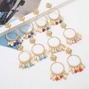 Fashion temperament shell earrings NHKQ146699's discount tags