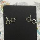 Popular Harry Potter gilded alloy death saint earrings NHCU146558