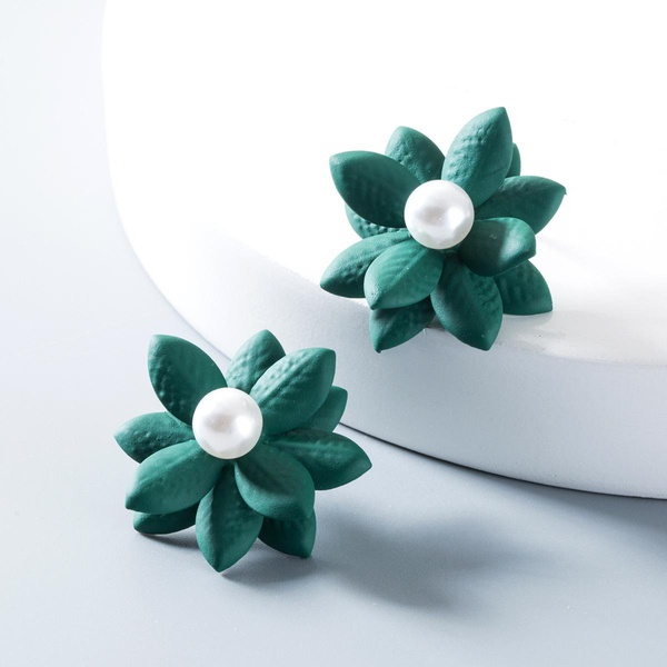 Fashion fresh beads flower earrings NHLN146790