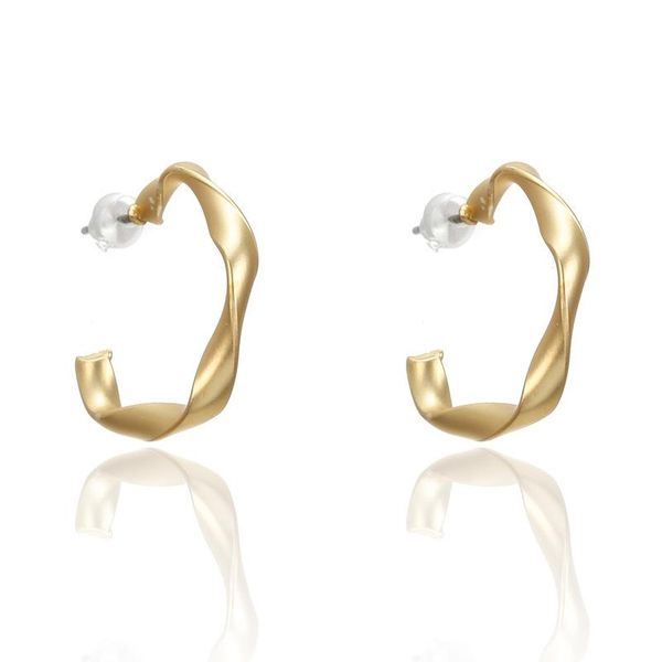 Fashion alloy circle beadss hoop earrings NHPF146870