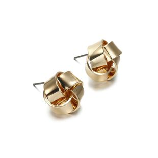 Simple and stylish alloy stud earrings NHPF147224's discount tags