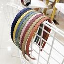 Sweet and lovely candycolored acrylic wavy headband NHOF147115