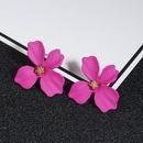 New simple sweet flowers stud earrings NHPF147196