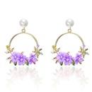 Sweet new flower beads earrings NHPF147209