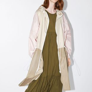 Fashion stitching trench coat long jacket NHAM147416's discount tags