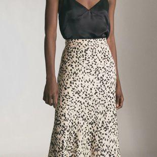Autumn leopard print dress skirt NHAM147435's discount tags