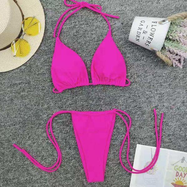 New colored beach bikinis NHNM147658