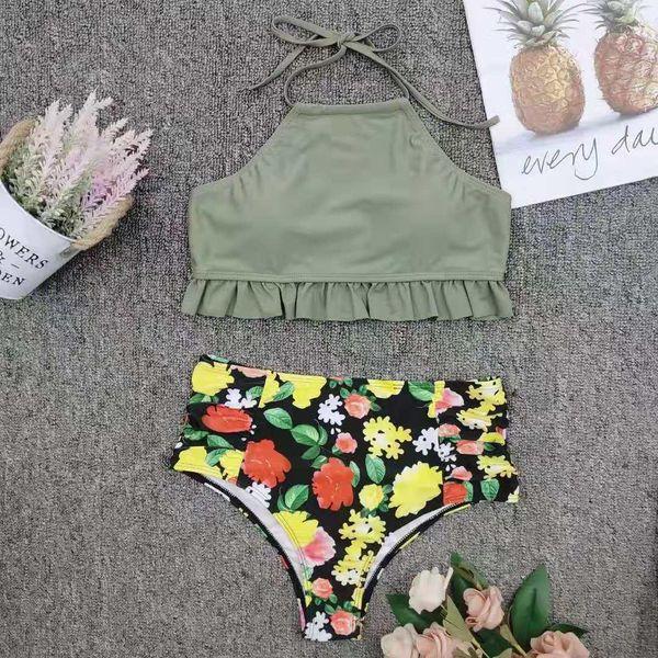New minimalist print bikini NHNM147661