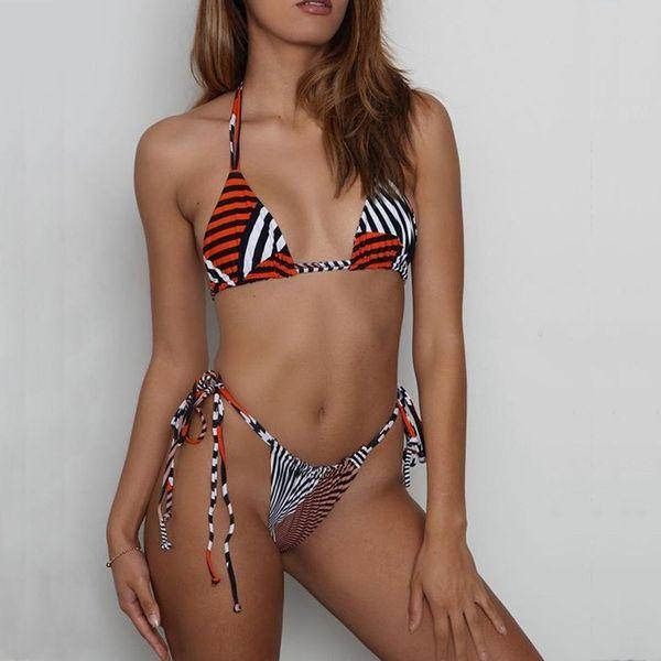 Nuevos bikinis a rayas NHNM147663