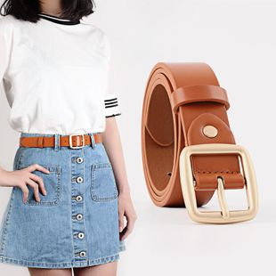 New women fashion fine section buckle belt NHPO147709's discount tags