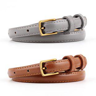 New simple retro alloy buckle fine women belt NHPO147716's discount tags