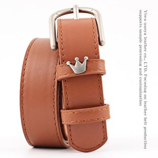 Fashion crown alloy pin buckle women belt NHPO147721's discount tags