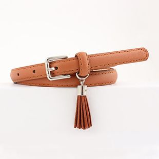 Stylish and beautiful pendant multicolor pin buckle belt women NHPO147717's discount tags
