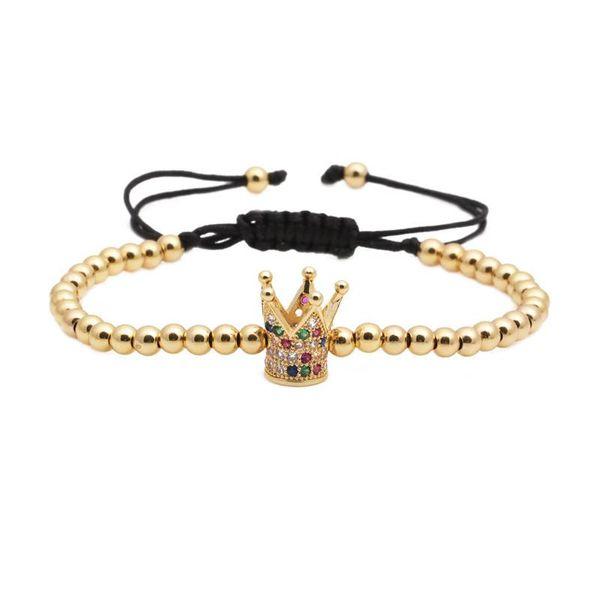 Unisex Crown Copper Bracelets & Bangles NHYL147894