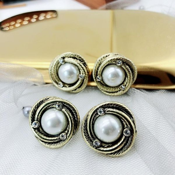 Best-selling vintage alloy beads ear clip NHOM147899