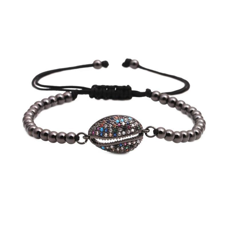 Unisex Shell Copper Bracelets & Bangles NHYL147935
