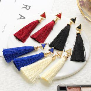 Fashion Vintage Tassel Alloy Earrings NHPJ147977's discount tags