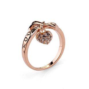 Fashion full rhinestone heart LOVE YOU ring NHLJ148015's discount tags