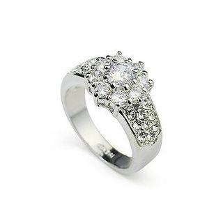 Stylish and luxurious beautiful rhinestone ring NHLJ148017's discount tags