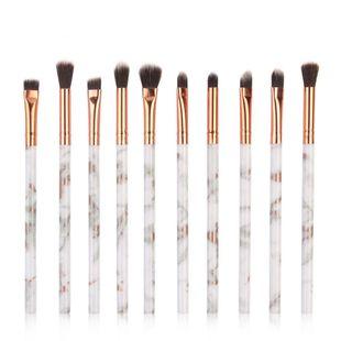 10 pics marbled makeup brush NHDJ148060's discount tags