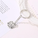 Keychain fashion letter foot hanging decoration bag clothing accessories NHDP147878