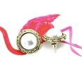 NHOM259373-Style-seven-925-silver-needle-stud-earrings