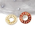 NHOM259383-Style-seventeen-925-silver-needle-stud-earrings