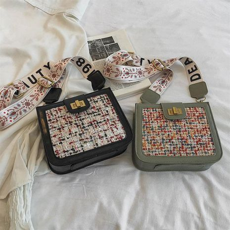 Korean version of the foreign air broadband slung shoulder bag NHTC139506's discount tags