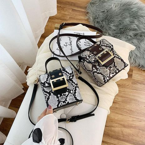 Summer fashion personality slanting small square bag NHTC139545's discount tags