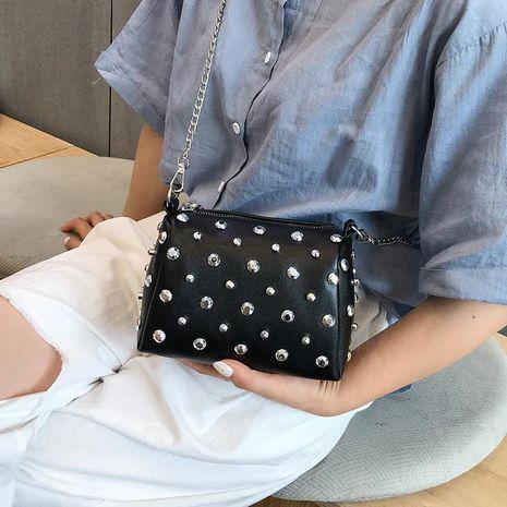 Tide Korean fashion rivet shoulder bag NHXC139569's discount tags
