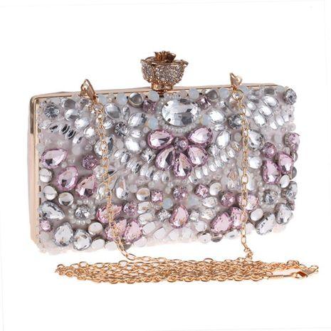 Elegante bolso de noche con cuentas minimalista NHYG139607's discount tags