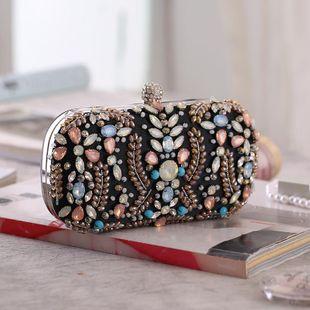 Bolso de cena con hebilla de acrílico y diamantes de moda NHYG139608's discount tags
