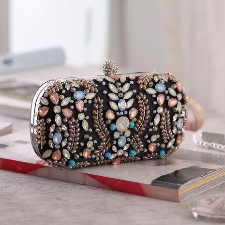 Fashion Rhinestone Acrylic Buckle Dinner Bag NHYG139608's discount tags