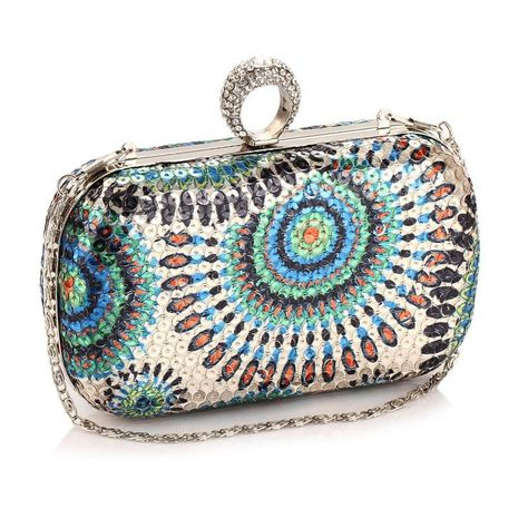 Fashion Print Dinner Party Clutch NHYG139621's discount tags