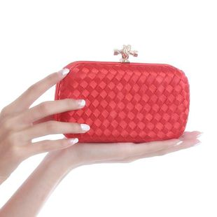 Fashion hand-woven evening bag NHYG139624's discount tags