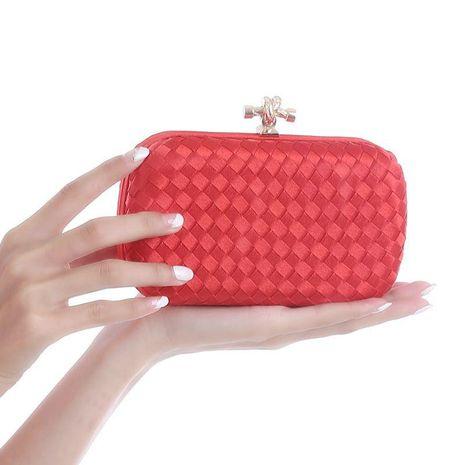 Bolso de noche tejido a mano de moda NHYG139624's discount tags