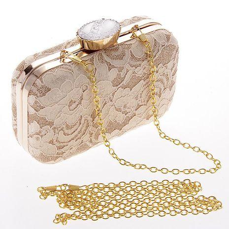 Paquete de fiesta de noche de bolso de embrague de encaje de moda NHYG139626's discount tags