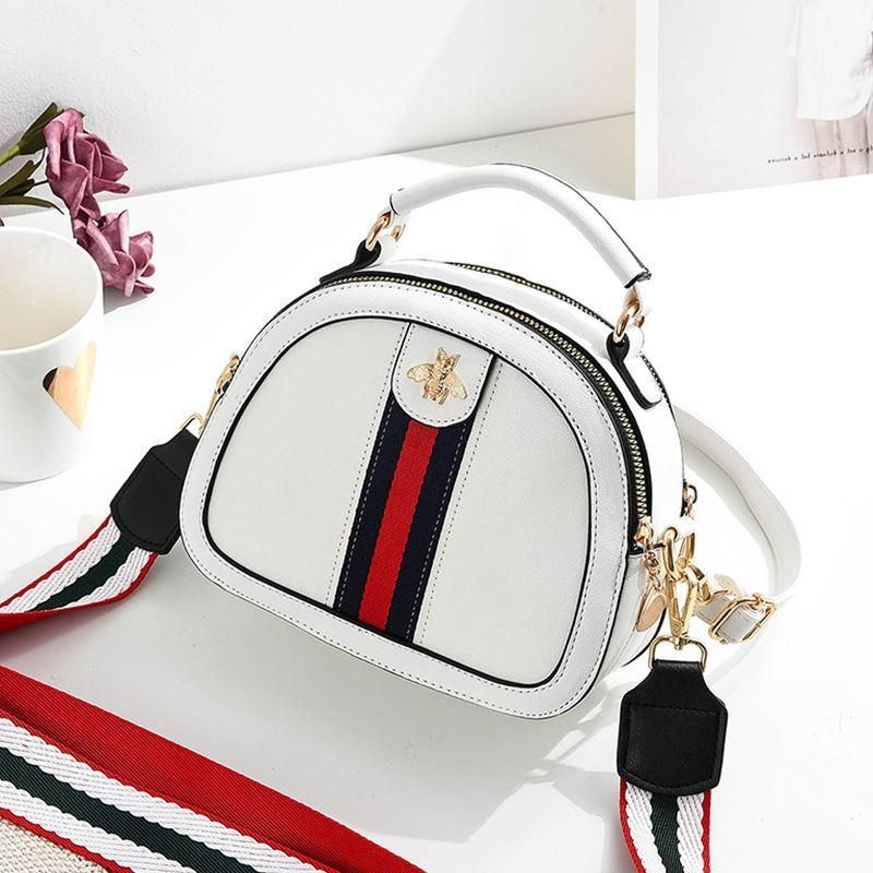 Fashion simple and versatile portable Messenger bag NHXC139629