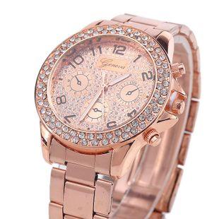 Stylish and simple rhinestone watch NHMM148178's discount tags