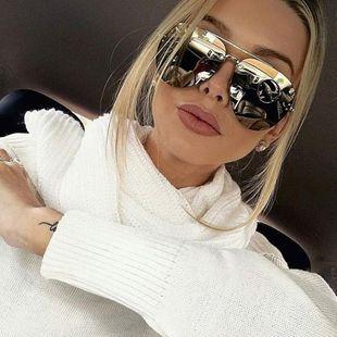 Stylish metallic colorful sunglasses NHFY148284's discount tags