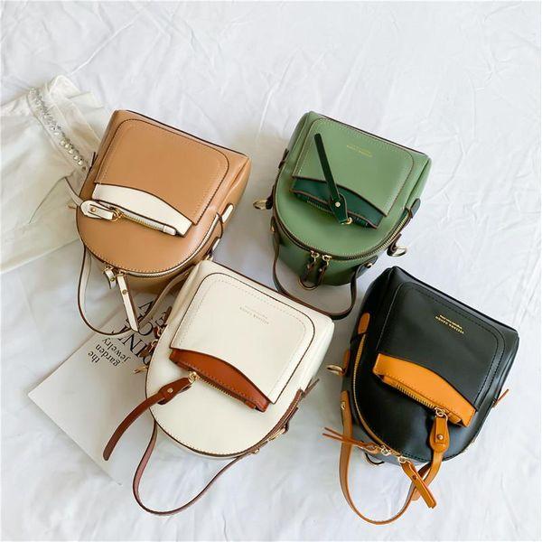 Fashion casual billiard shoulder diagonal small backpack NHXC148435