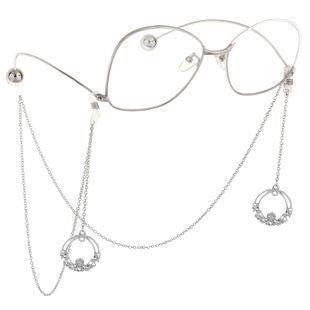 Fashion Round Garland Pendant Glasses Chain NHBC148754's discount tags