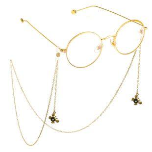 New alloyen crab pendant glasses chain NHBC148758's discount tags