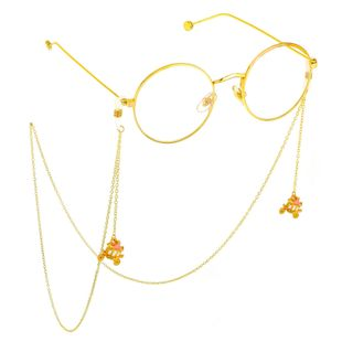 Fashion alloyen pumpkin car pendant glasses chain NHBC148760's discount tags