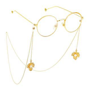 Alloy Maple Leaf Pendant Eyeglass Chain NHBC148762's discount tags