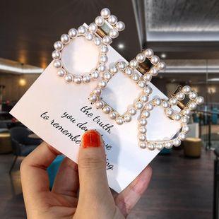 Fashion antique geometric beads hair clip NHPF148773's discount tags