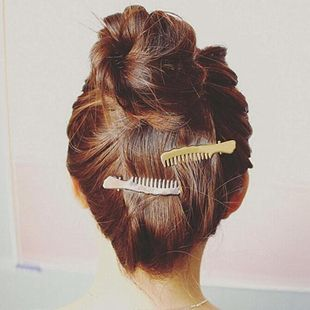 New alloy comb type hair clips NHPF148808's discount tags