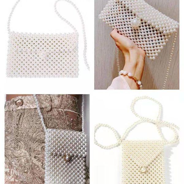 Fashion wild holiday style beads jewelry bag NHMD139721