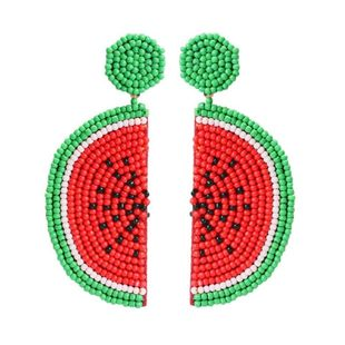 Mizhu watermelon fruit girl earrings NHMD139736's discount tags